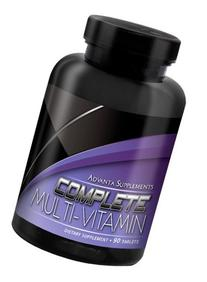 Advanta Supplements Complete Multi-Vitamin 90 tablets