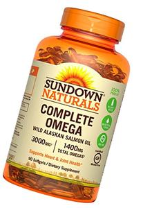 Sundown Naturals Complete Omega 1400 mg, 90 Softgels