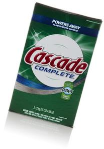 Cascade Complete Powder Dishwasher Detergent, Fresh Scent,
