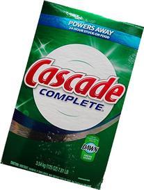 Cascade Complete Powder Dishwasher Detergent, Fresh Scent,