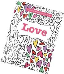 Completely Calming Colouring Book 2: LOVE
