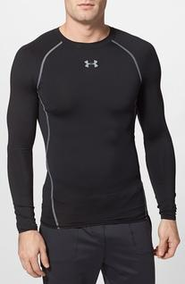 Men's Under Armour Heatgear Compression Fit Long Sleeve T-