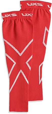 2XU Compression Recovery Arm Sleeves, Red, Medium