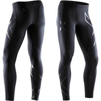 2XU Men's Recovery Compression Tights, Black/Black, XX-Large