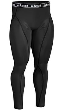 TM-P06-BB_XL Tesla New Men's Cool Compression pants tights