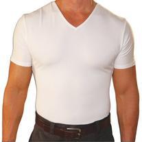 Insta Slim Mens Compression V-neck T-shirt