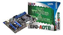 MSI Computer Corp. Socket AM3+ AMD 970 DDR3 SATA3 and USB 3.