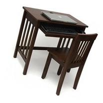 Lipper International Child'S Computer Desk - Walnut