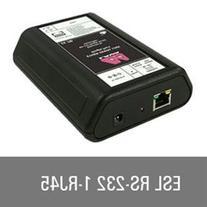 LAVA Computer ESL 1-232-RJ45 1 Port Serial Device Server