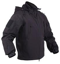 Rothco Concealed Carry Waterproof Soft Shell Jacket, Black