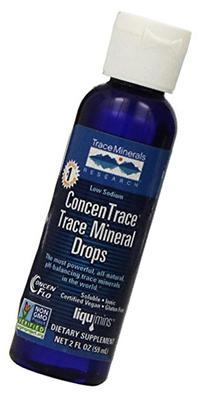 ConcenTrace Trace Mineral Drops - Travel Size - 2 oz