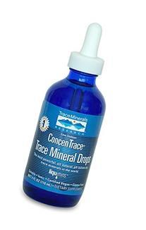 Trace Minerals Concentrace Trace Mineral Drops-Glass, 4-