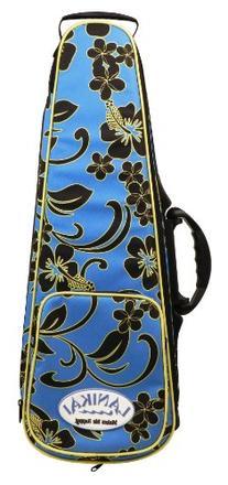 LANIKAI Concert Sidekick Ukulele Hard Bag/case, Floral