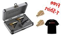 Ortofon Concorde Gold Twin Pack + 2 Extra Gold Stylus +