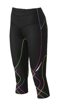 CW-X Conditioning Wear Women's 3/4 Length Stabilyx Tights,
