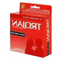 Trojan Latex Condoms, Non-Lubricated, 36-Count Boxes