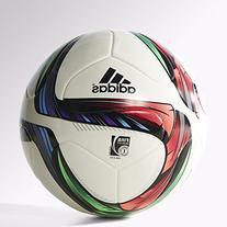 adidas Performance Conext15 Top Replique Soccer Ball, White/
