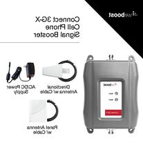weBoost Connect 3G-X Cell Phone Signal Booster for Home and Office - Enhance Your Signal up to 32x. Can Cover up to 7500 sq ft or Large Home. For