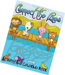 Connect the Lines Activity and Coloring Book