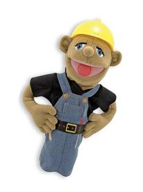 Melissa & Doug Construction Worker Puppet With Detachable