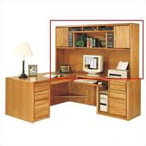 Martin Furniture Contemporary Deluxe Hutch - Fully Assembled