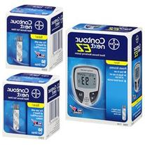 Bayer Contour Next EZ Glucose Meter Kit Meter Kit Combo