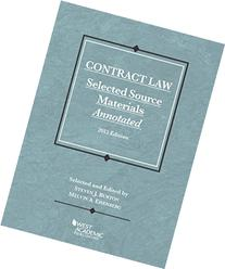 Contract Law, Selected Source Materials Annotated, 2015