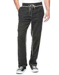 True Religion Men's Wide Leg Big T Stitch Sweatpants, Jet