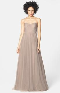 Women's Jenny Yoo 'Annabelle' Convertible Tulle Column Dress