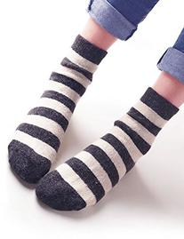 Vero Monte 4 Pairs Womens Cony Hair Crew Socks  3871