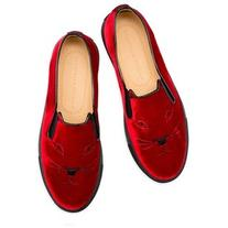 Women's Charlotte Olympia Cool Cats Slip-On Sneaker