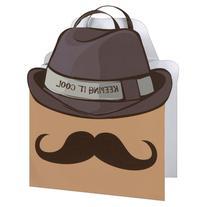 Unique Cool Mustache Gift Bag