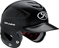 Rawlings Coolflo NOCSAE Molded Batting Helmet, Black, One