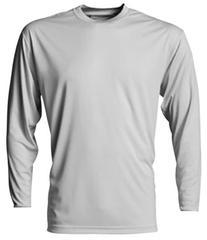 A4 Men's Cooling Performance Crew Long Sleeve T-Shirt,