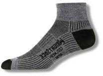 Wrightsock Men's Coolmesh Ii Quarter Single Pack Socks,