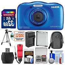 Nikon Coolpix S33 Shock & Waterproof Digital Camera  with