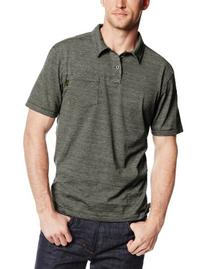 Outdoor Research Men's Cooper Short Sleeve Polo, Evergreen,