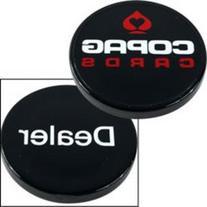 Trademark Poker Copag USA Delaer Button, Black