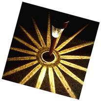 8Pack Copper Finish Solar Light Sogrand Solar Pathway Light