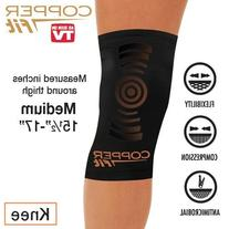 Copper Fit MEDIUM SIZE Copper Infused Knee Sleeve Uni-sex