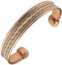 Women Ladies Men's Pure Copper Magnetic Bracelet for Therapy