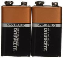 Duracell Coppertop Alkaline Batteries 9V - 8 pk