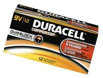 Duracell Coppertop 9V 12 Pack MN1604BKD