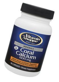 The Vitamin Shoppe  Coral Calcium - 180 Capsules