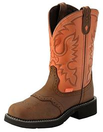 Justin Women's Coral Stitched Gypsy Cowgirl Boot Round Toe