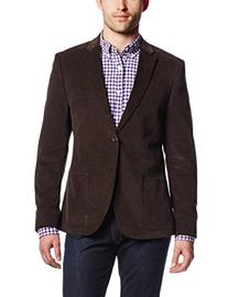 Dockers Men's Olive Cord Blazer, Olive, 46 Long