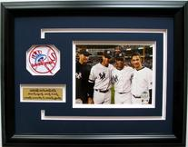 CGI Sports Memories Core 4 Yankees Photo Frame with 3D