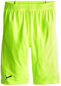 PUMA Big Boys' Pure Core Short, Acid Yellow, Medium