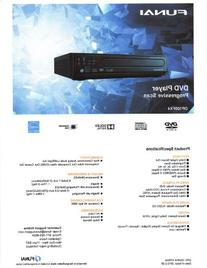 Funai Corp. DP100FX4 Progressive Scan DVD Player