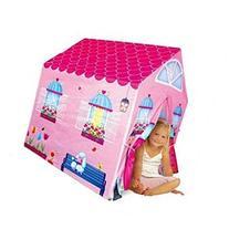 Cottage Playhouse Girl City House Kids Secret Garden Pink
